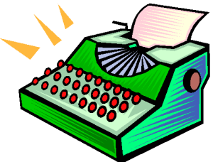 Typewriter by Green Street (royalty free image owned by Peter Giblett.