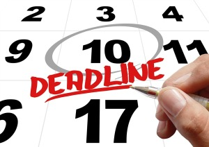 Deadline by geralt on Pixabay CC0 Public Domain