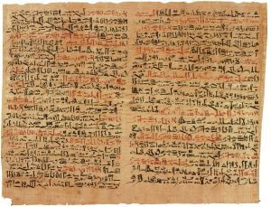 Egyptian hyrogliphic writing by Wiki Images CC0Public Domain Pixabay